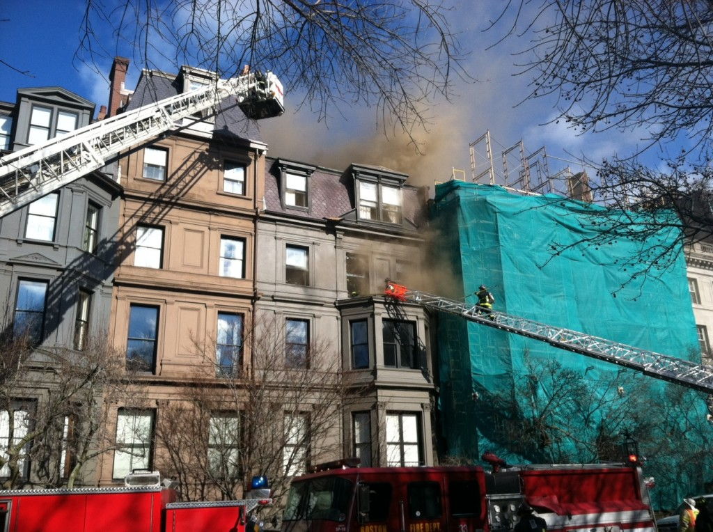 fire first block of comm ave