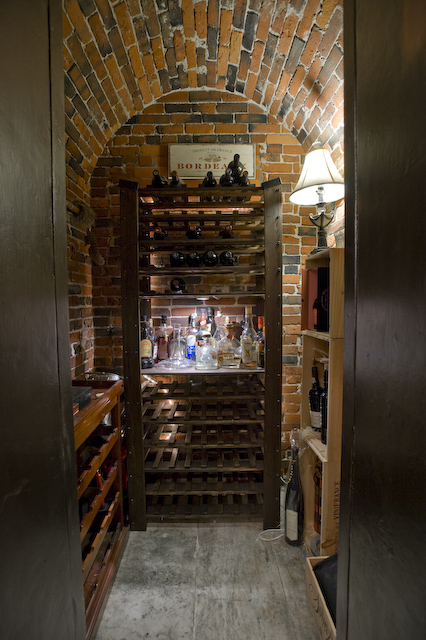 25 Walnut wine cellar