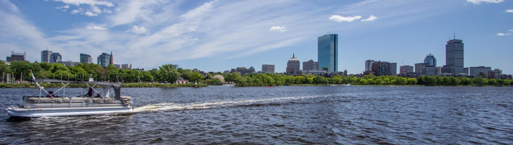 Charles River Boston Skyline
