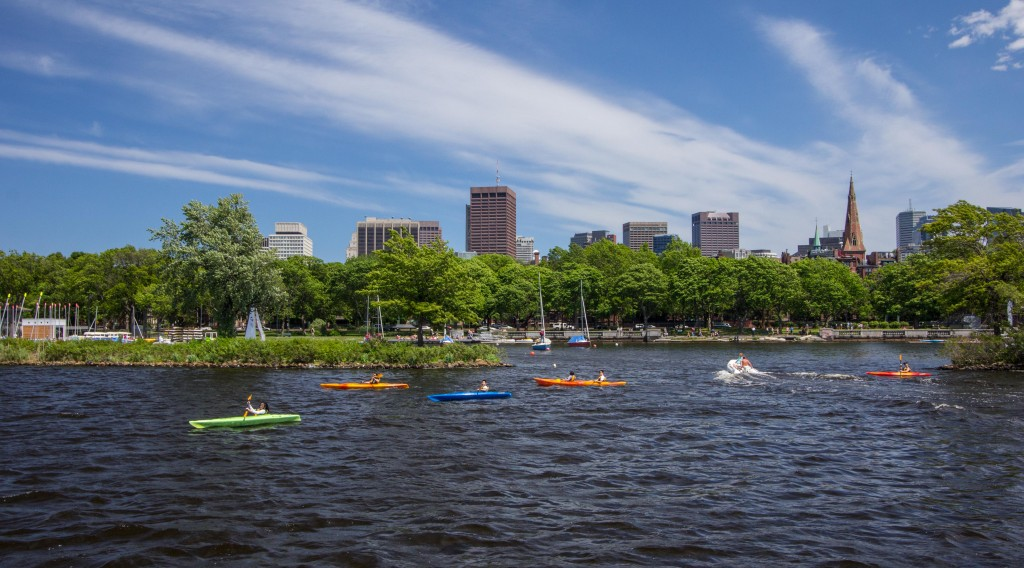Kayaks Charles River Boston